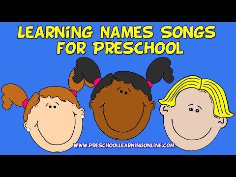 Learning Names Songs for Preschoolers-Preschool Circle Songs - YouTube