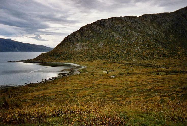 Cabin, Troms, Norway. www.inatur.no/hytte/50f18952e4b09858059476f6/hytte-nord-kvaloyhytta-i-fantastisk-natur-nar-tromso | Inatur.no
