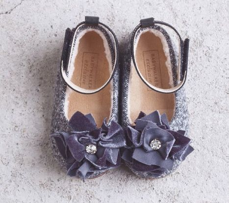Luxury winter balarinas by BABYWALKER