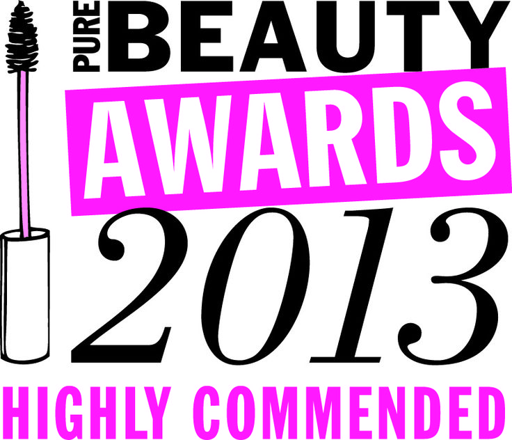 Our Award-winning Get Glowing Illuminating Clay mask got Highly Commended in the Pure Beauty Awards. Hooray!!!
