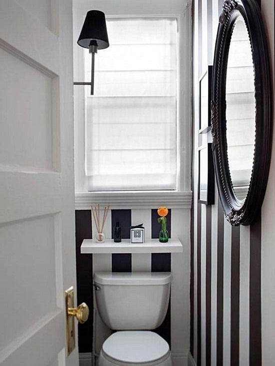 lavabo listras preto e branco