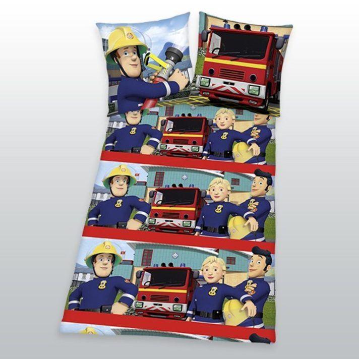 Wohnzimmer Feuerwehrmann Sam Bettwasche Details Zu Biber