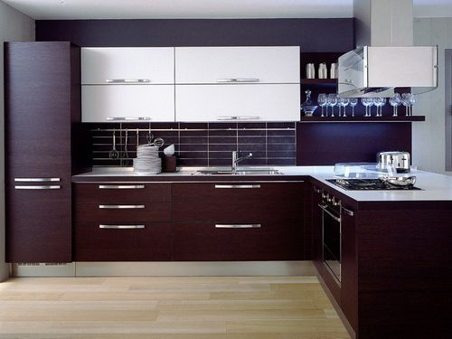 Simply Modern Kitchen Cabinet