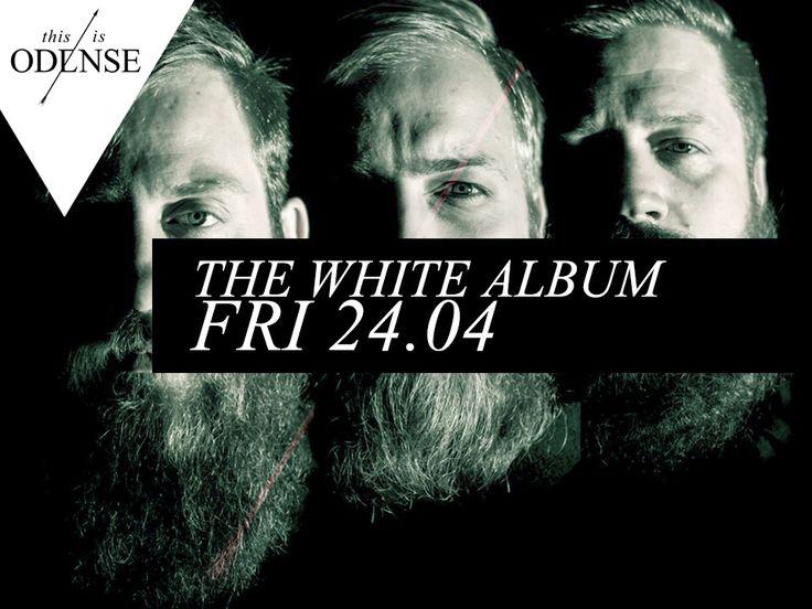 The White Album. Lun musik og 3 mænd med fuldskæg. Læs anbefalingen på: http://www.thisisodense.dk/da/18386/the-white-album