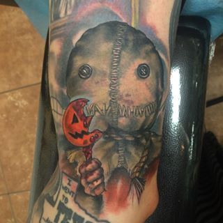 Trick 'r Treat | Community Post: 37 Incredible Horror Movie Tattoos That'll Give You Nightmares