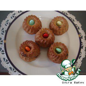 Кексы сметанные с шоколадом