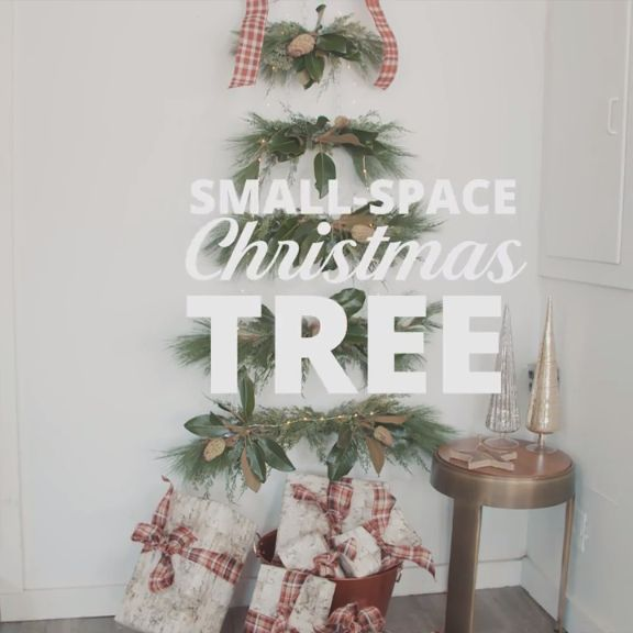 small space alternative to a christmas tree outdoor - Small Outdoor Christmas Trees