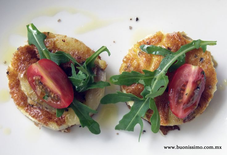 Tortilla española aromatizada de trufa blanca #bocadillos #buonissimomexico #chalupinski