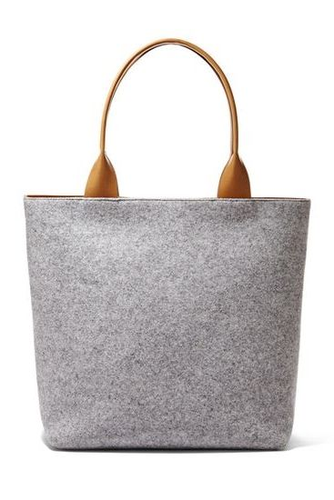 Anja Felt Tote - since this bag is actually hundreds of dollars I sense a project