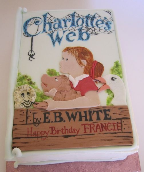 17 Best Images About Charlotte's Web Cakes/cupcakes On