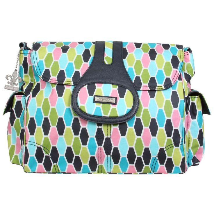 Kalencom Elite Diaper Bag, Green