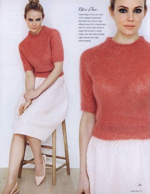 Debbie Bliss Knitting Magazine Fall Winter  - 2014