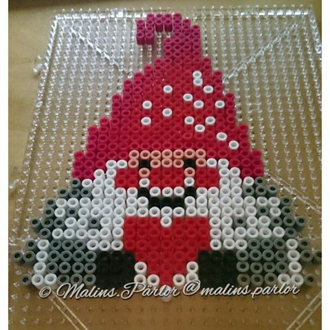 Christmas elf hama beads by  malins.parlor
