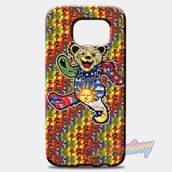 The Grateful Dead Dancing Bear Samsung Galaxy S8 Plus Case | casefantasy