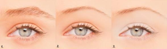 Красивый макияж для маленьких глаз Фото