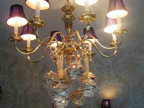 The 25 best christmas chandelier ideas on pinterest christmas christmas chandeliers on parade aloadofball Images