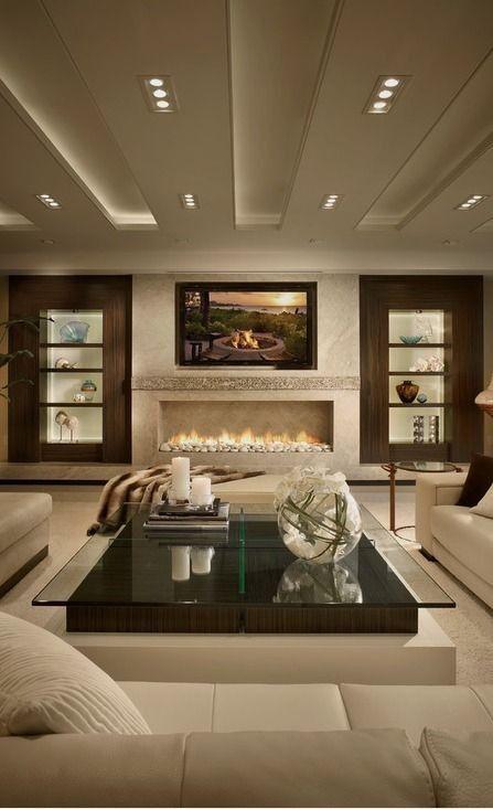 Home Design 40 Ideas For Living Room Decor Mounted Tv