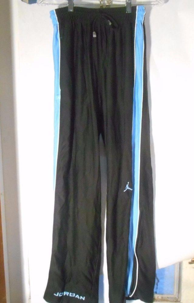500b8dbf896821 ... Men s Air Jordan Dark   Light Blue Basketball Warmup Athletic Pants  Size Medium NEW Men s Nike ...