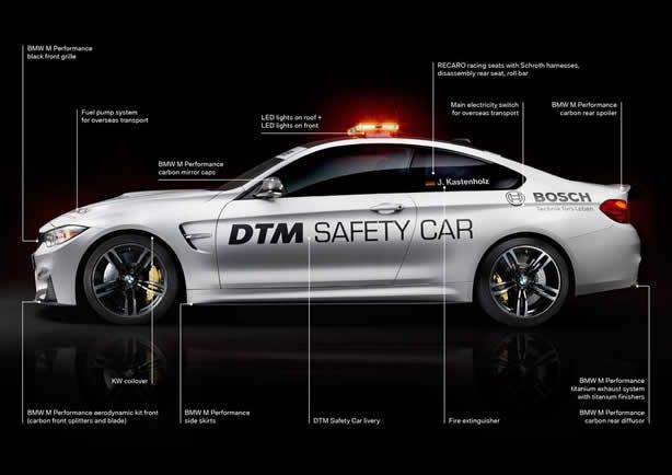 BMW unveils M4 Coupe Safety Car for DTM - Speed Carz
