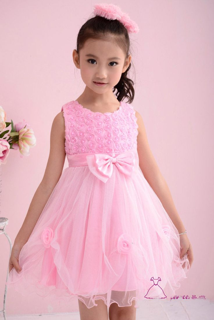 2016 summer baby girl clothes dress lovelr lace flower kids girl clothes princess dresses 2016 Party kids clothes dress for girl