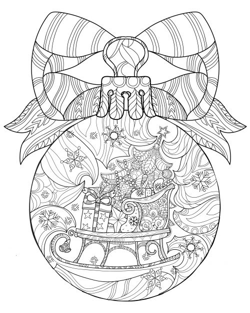 It's no secret that coloring pages are the trendiest way to combat any built up stress. Particularly around the holidays, stress management is