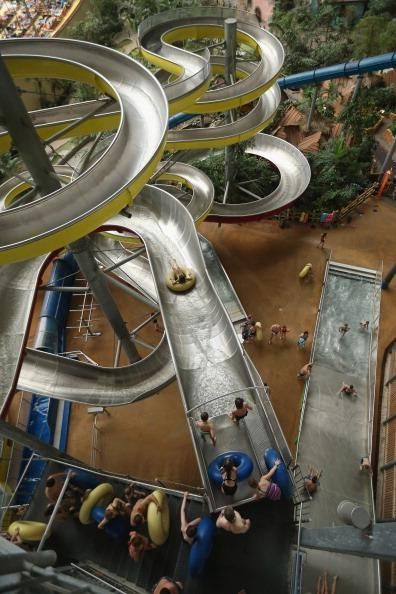 Dream Jobs: Man gets job testing water slides at water parks around the world - News - Bubblews