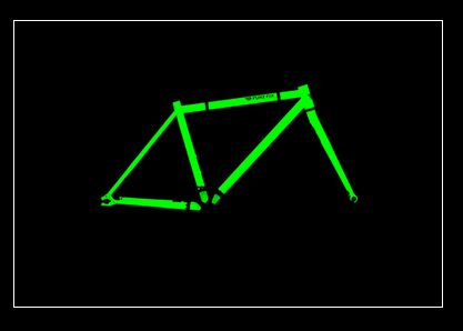 A glowing bike frame? Night riding will never be the same again!