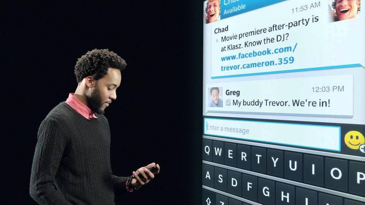 BlackBerry 10 - BlackBerry Flow & Peek