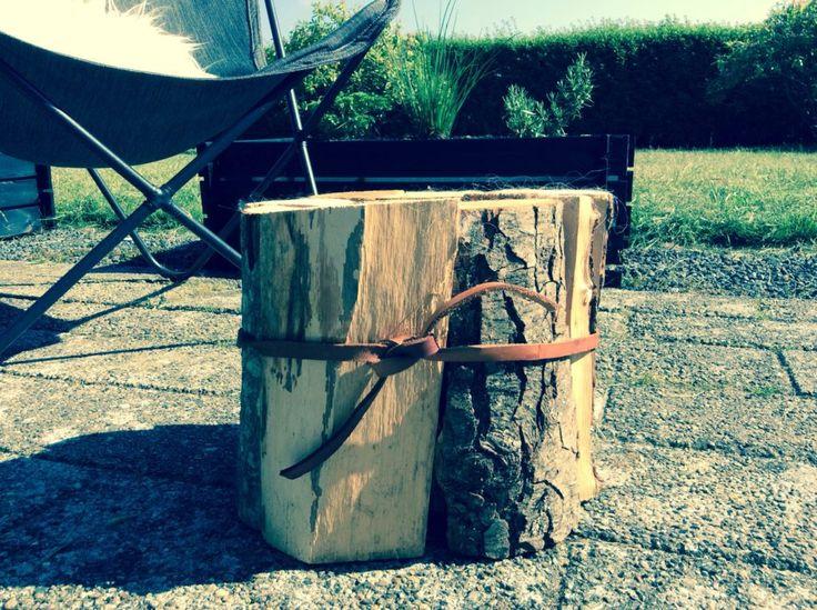 Lav en DIY skammel af træ på 5 minutter