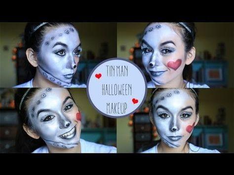Tin Man Makeup Tutorial - YouTube