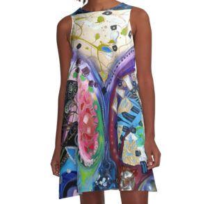 A-Line Dress #CherieRoeDirksen #fashion #dress