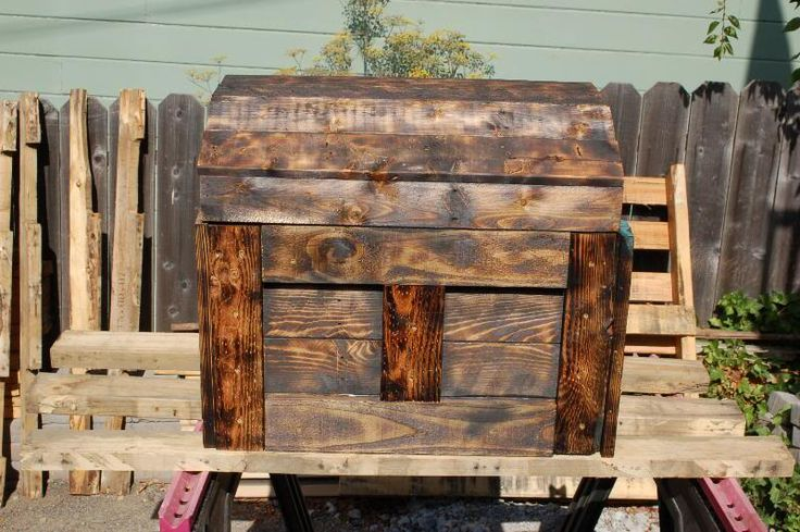 Large New Wooden Storage Box Diy Crates Toy Boxes Set: 13 Best Images About DIY Wood Treasure Chest On Pinterest