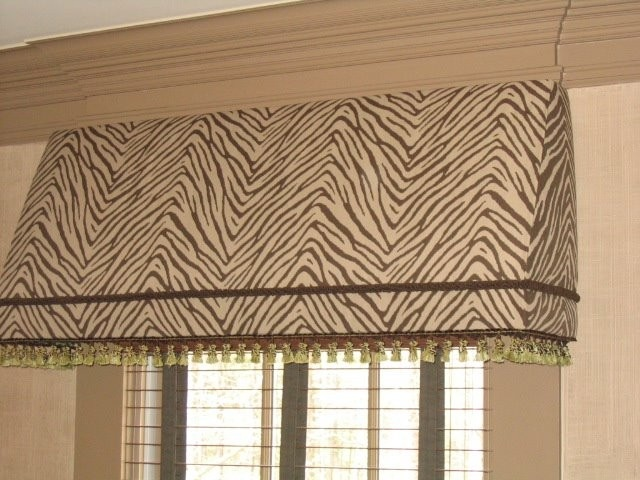 Awning Curtain With Crown Molding Over Window Styles House Design Home Improvement