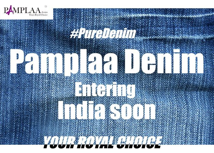 The  new world of denim. Pamplaa entering India soon. All new designs, stay tuned for more..  #puredenim #royalchoice #authenticdenim #jeans #denimfashion