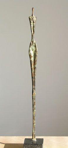 Bronzen sculptuur van beeldend kunstenaar Ragonda IJtsma, beeldje, brons, oplage 5, 45 cm hoog, nog 2 beeldjes te koop, € 2.500,-  http://www.ragondaijtsma.nl