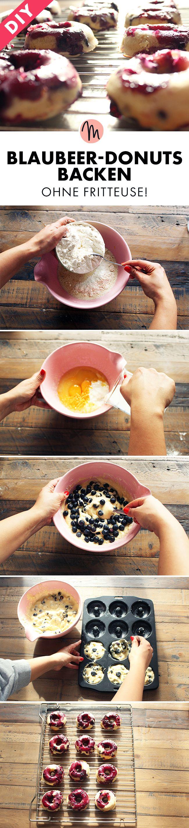 Die besten 25+ Donut rezept Ideen auf Pinterest   Donut ...
