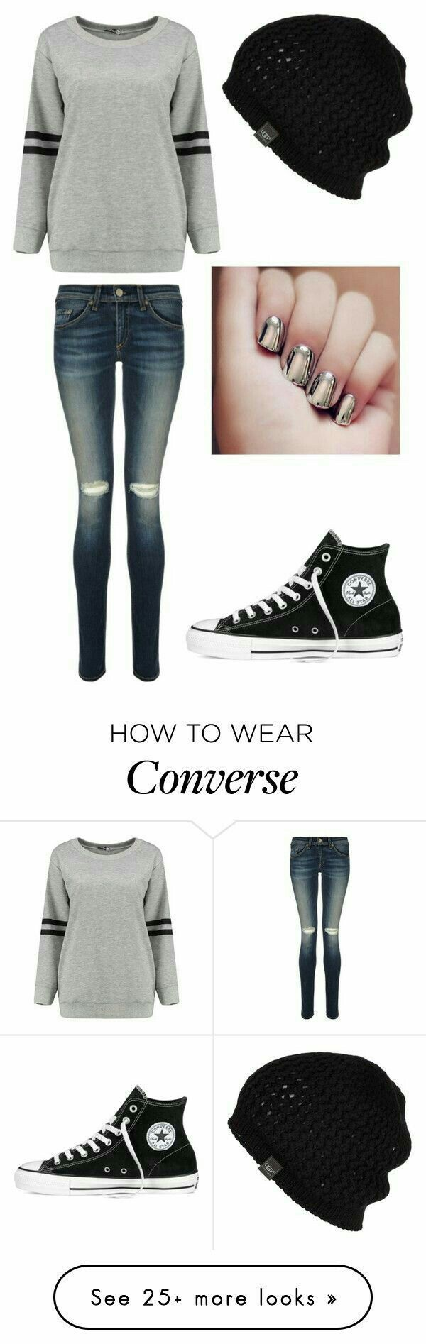 #Ropa #Moda #Outfits #Style #Converse