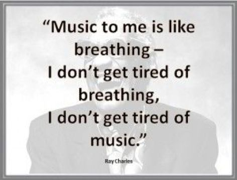Fantastic Ray Charles #quote.