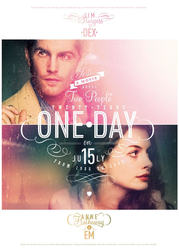 ONE DAY by Federica Bonfanti, via Behance