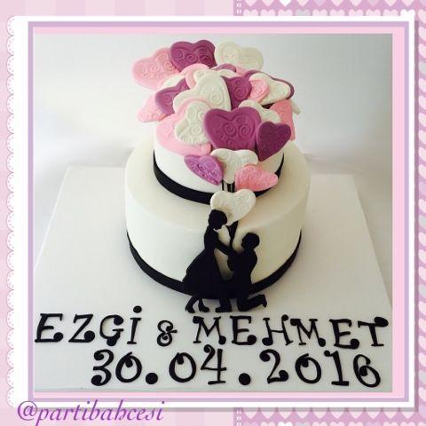 Nişan Pastası, Söz Pastası, Sevgililer Günü Pastası, Evlilik Teklifi Pastası