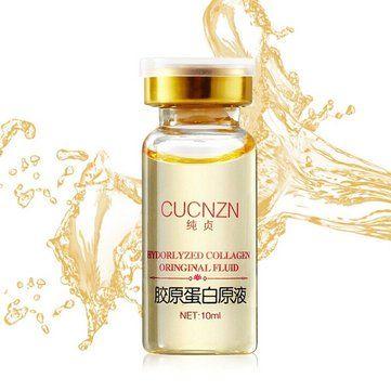 Só R$15.35 , compra Colágeno cucnzn puro líquido clareamento essência hidratante anti-envelhecimento na Banggood.com. Comprar moda Cream & Essência online.