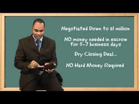 Kenny Rushing - Wholesaling Bulk REO Foreclosure Deal Case Study
