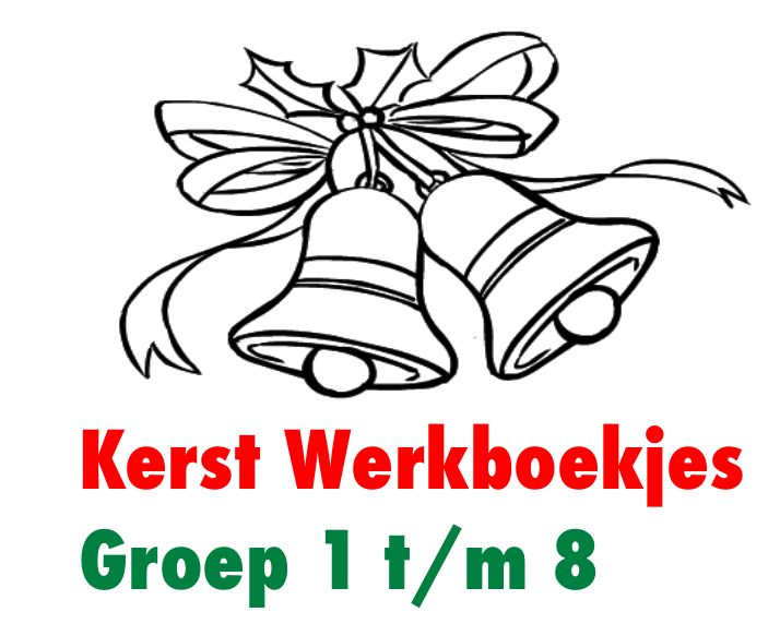 Kerst Werkboekjes voor Groep 1 t/m 8