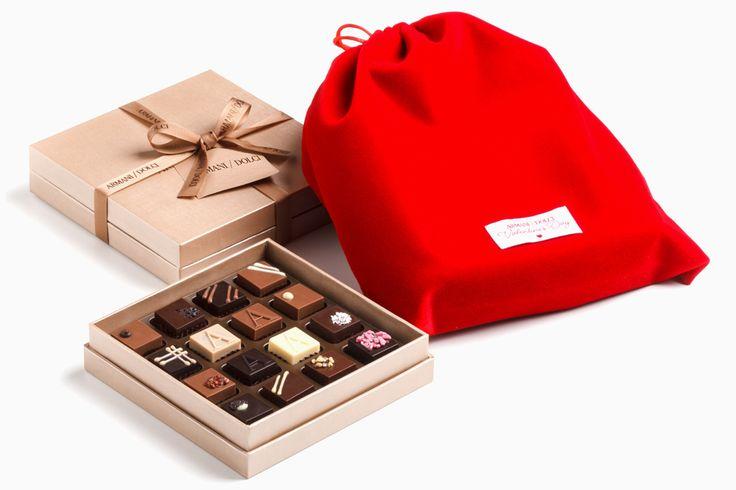 Нежнейшие кондитерские удовольствия в алых упаковках — громкое любовное заявление
