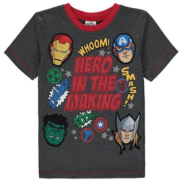 Lasten Marvel Avengers t-paita
