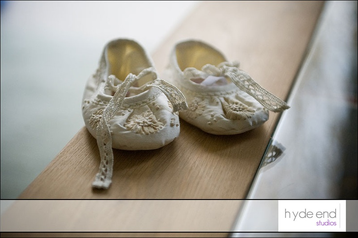 Baby Zara's shoes photographed during a portrait shoot. Not strictly baby bridesmaids shoes but cute or what?