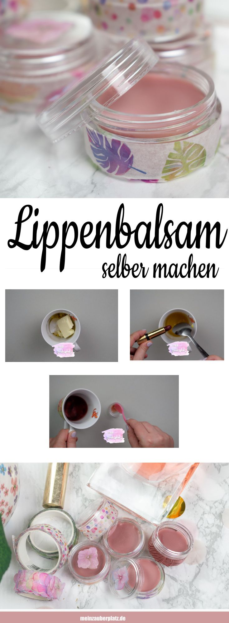 DIY: make lip balm itself – My magic place – DIY and gift ideas