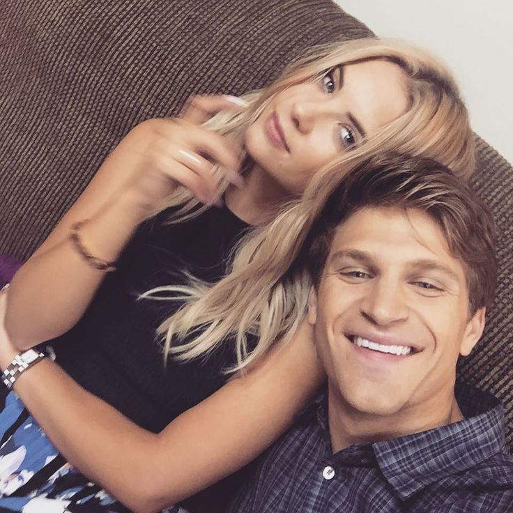 Ashley & Keegan on set #PrettyLittleLiars