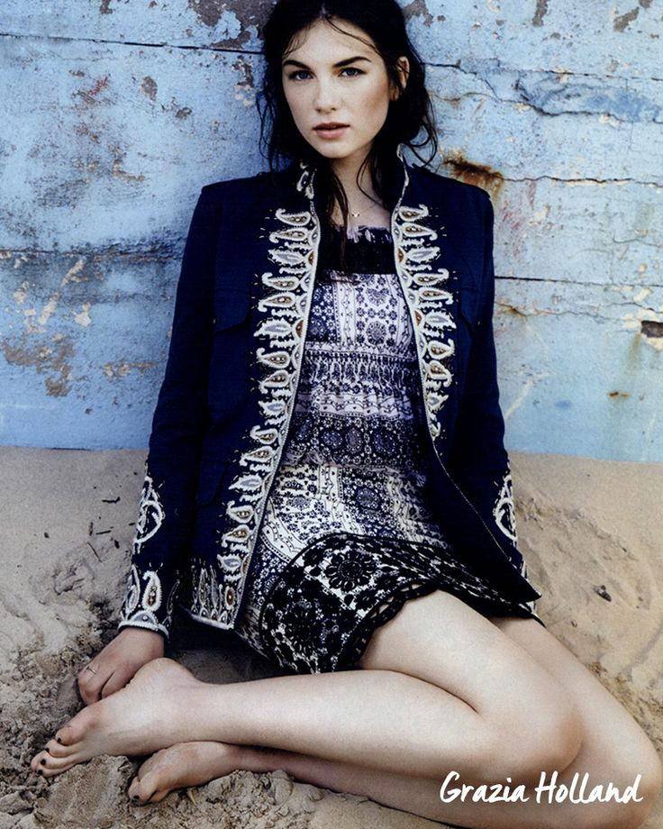 The Fay Victoria Coat makes a perfectly patterned fantasy. As seen in Grazia Holland.