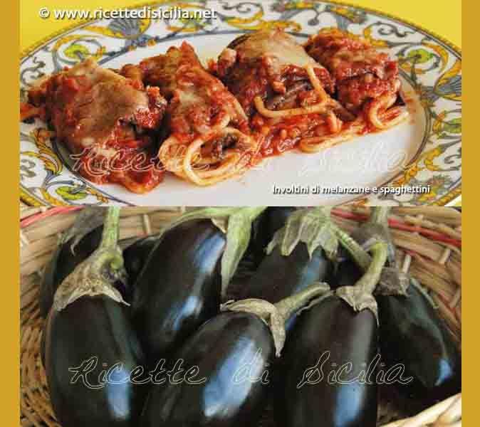 Involtini di melanzane e spaghetti, un piatto ricco di sapori mediterranei. Una gioia per gli occhi oltre che per il palato!